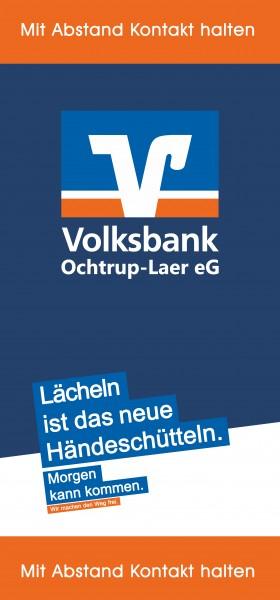Volksbank Ochtrup-Laer 70x150cm